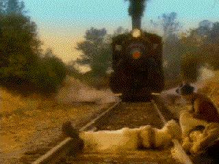 Excuse Me Mr. 'train'