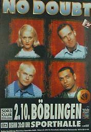 German concert poster