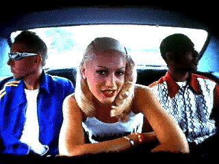 Tom, Gwen, Tony in car