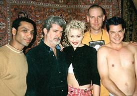 The group with George Lucas