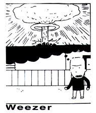 Weezer - Bomb sticker